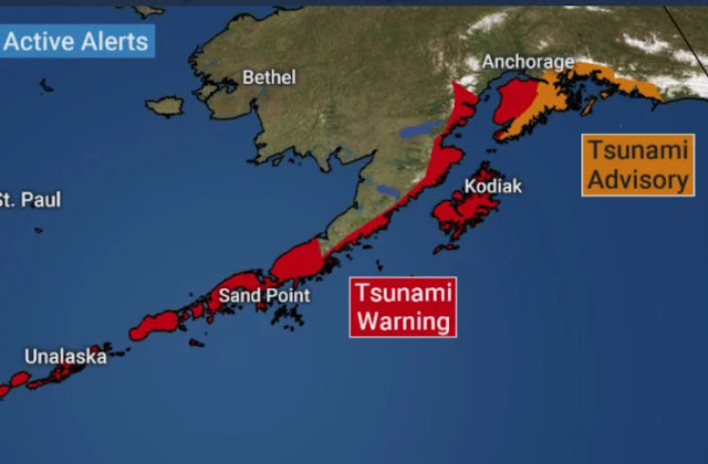 Μεγάλος σεισμός 7,8 Ρίχτερ στην Αλάσκα