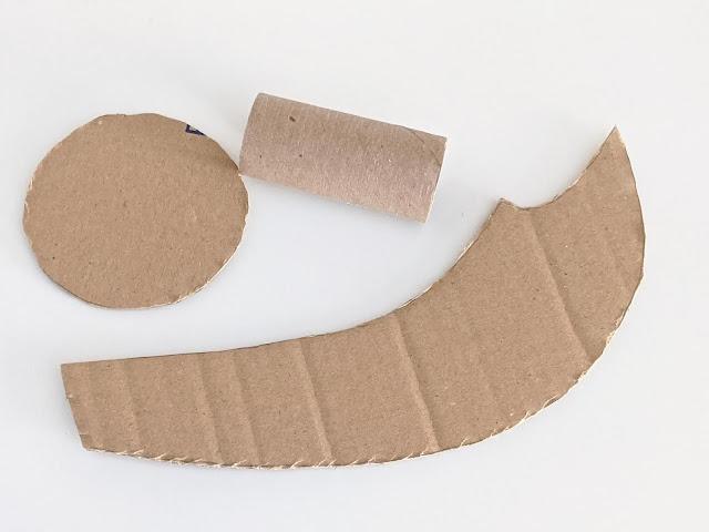 cardboard materials for pirate sword