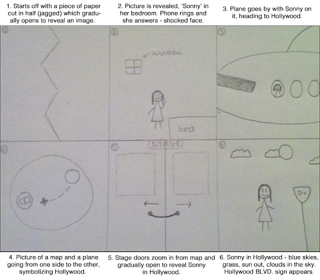 Advanced Portfolio in Media Storyboards and Layout Mock-ups