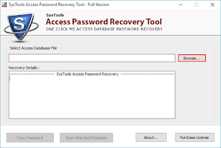 password-protected MS Access file