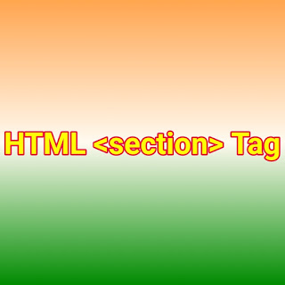 HTML <section> Tag