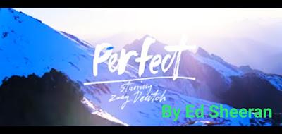 Lyrics Perfect, Perfect song