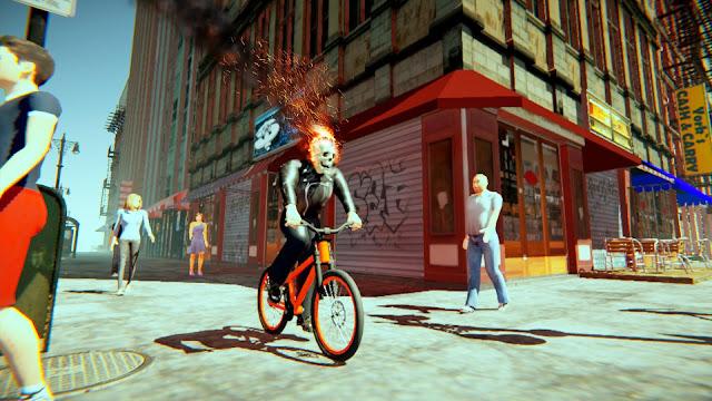 مود ghost rider للعبة gta sa للاندرويد