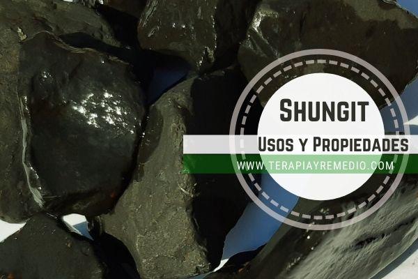 Piedra Shungit o Shungita Propiedades y Usos