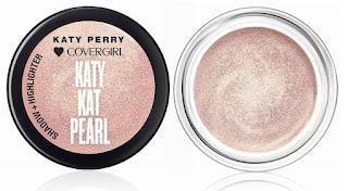 """Sombras da """"Katy Kat Pearl"""" da Katy Perry e Covergirl"""
