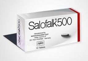 سعر أقراص سالوفالك 500 Salofalk لعلاج القولون