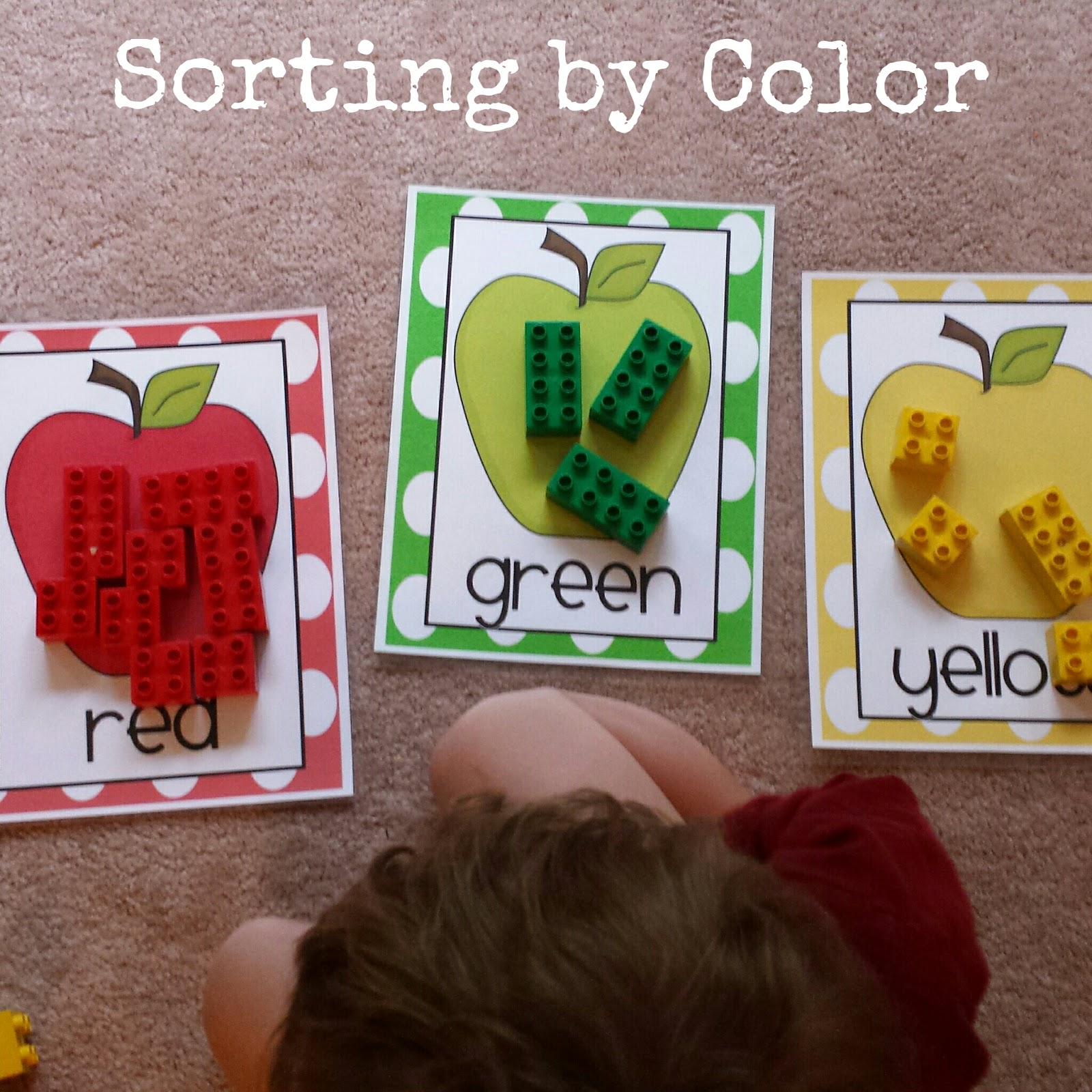 Pink Polka Dots And Pre K Apple Theme September Tot School Activities