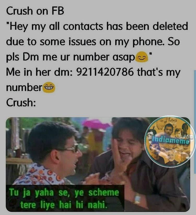 Phir Hera Pheri Memes    Iconic dialogue meme of Phir Hera