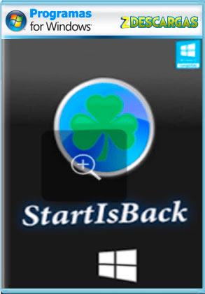 StartIsBack programa para cambiar el menu inicio de windows