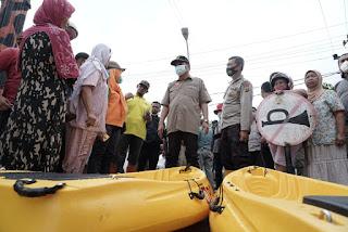 Tinjau Lokasi Banjir,  Walikota Tebing Tinggi: Penanganan Sungai Padang sudah Diajukan 10 Tahun Lalu, Belum Ada Inplementasinya