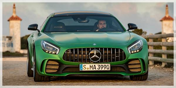 2018 Mercedes-AMG GT R Green Monster Styling Reviews