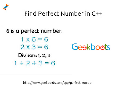 https://www.geekboots.com/cpp/perfect-number