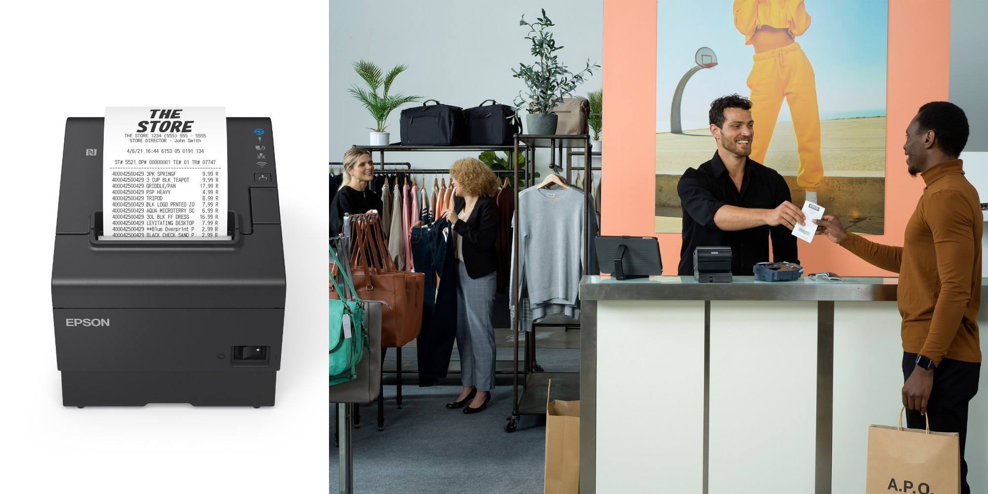 Epson Unveils the Fastest POS Receipt Printer in the Industry1-New OmniLink TM-T88VII