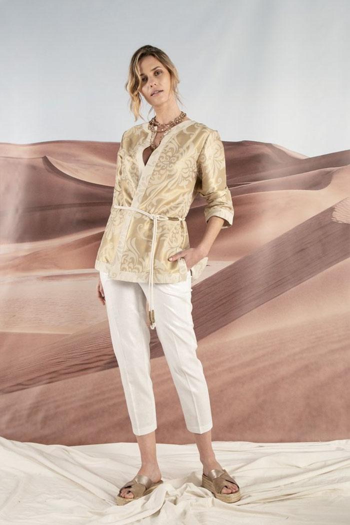 Ropa de mujer primavera verano 2020. Blusas cruzadas tipo kimono verano 2020.