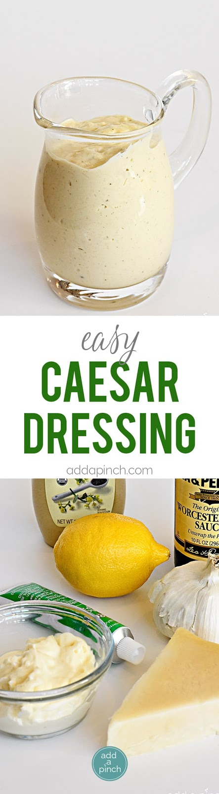Easy Caesar Dressing Recipe