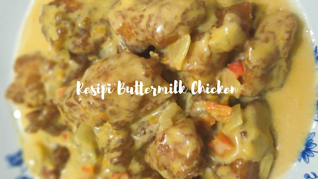 Resipi Buttermilk Chicken