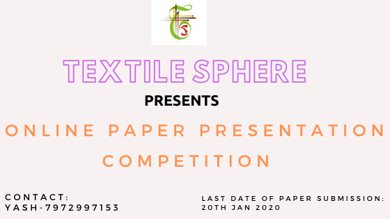 Textile Sphere- Online Paper Presentation Competition