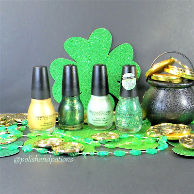 "Simply Sinful: What's New: St Patrick's day 2017 Collection: ""Luck of the Stylish."""