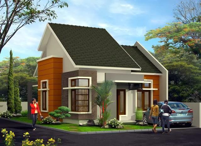 model rumah cantik sederhana 2