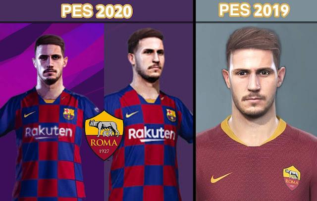 PES 2020 Yıldırım Mert Çetin Face (AS Roma) by nanilincol44