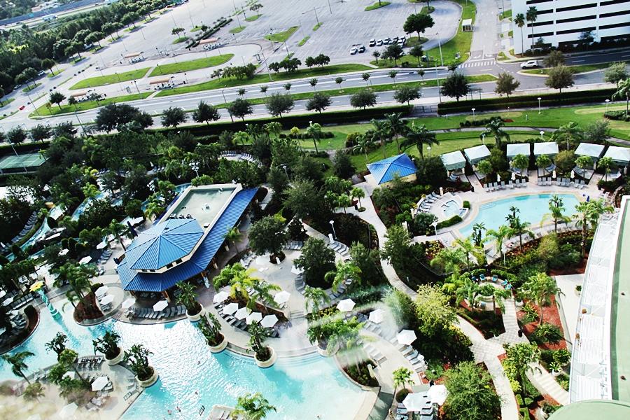 pool orlando hilton