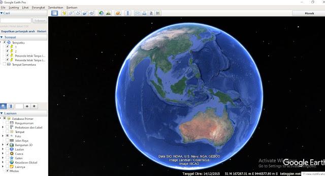 Cara Mendapatkan Kontur dari Google Earth dan Global Mapper