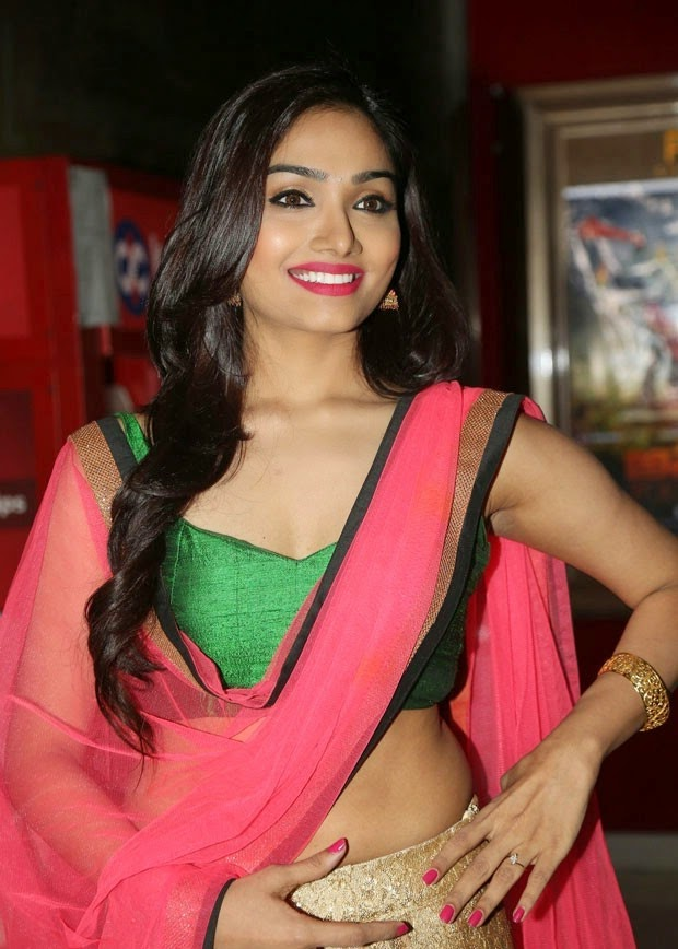 Aishwarya Devan Stills at Anekudu Telugu Movie Audio ...
