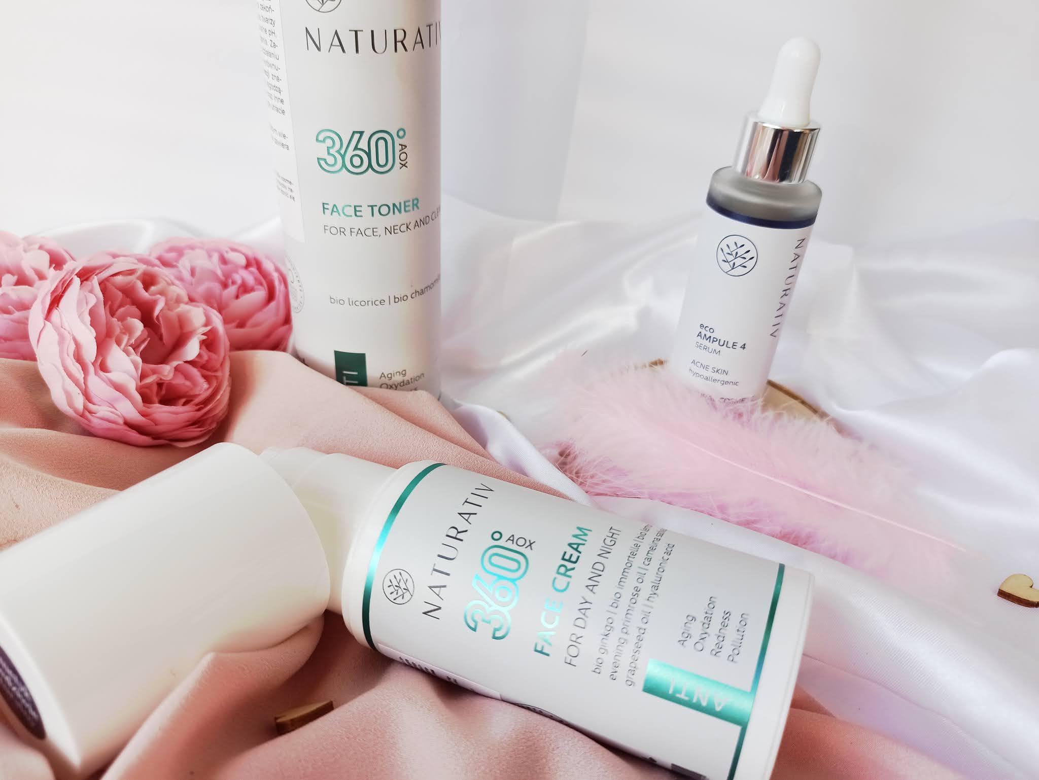 Recenzja kosmetyków od marki Naturativ - krem, serum oraz tonik