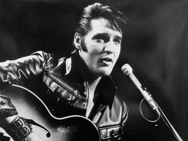 SleuthSayers: Me and Elvis Presley