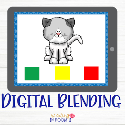 Are you looking for free activities to teach your kindergarten and first-grade students how to blend and segment?  Look no further!  Check out these digital and paper freebies to get you started with teaching blending and segmenting. In order to become proficient readers, blending and segmenting are critical skills that students need in order to decode words automatically.