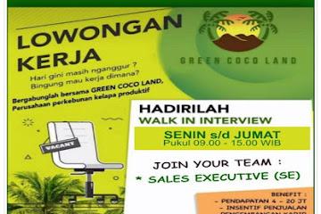 Lowongan Kerja Sales Executive Green Coco Land
