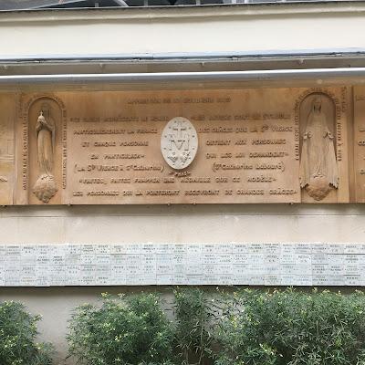 Iscrizione Rue du Bac