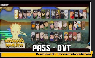 Naruto Senki Storm 4 V1.19 Apk by DVT