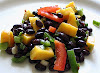 Black bean mango salad