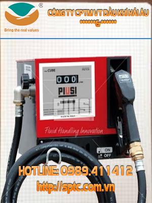 Bơm xăng dầu theo bộ Piusi Cube lưu lượng 56 lít/phút chính hãng