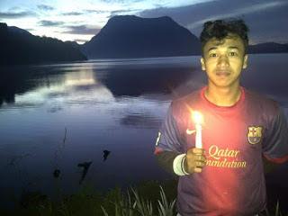 Wisata danau gunung tujuh