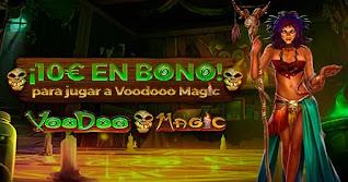 paston 10 euros gratis Slot Voodoo Magic hasta 24 enero 2021