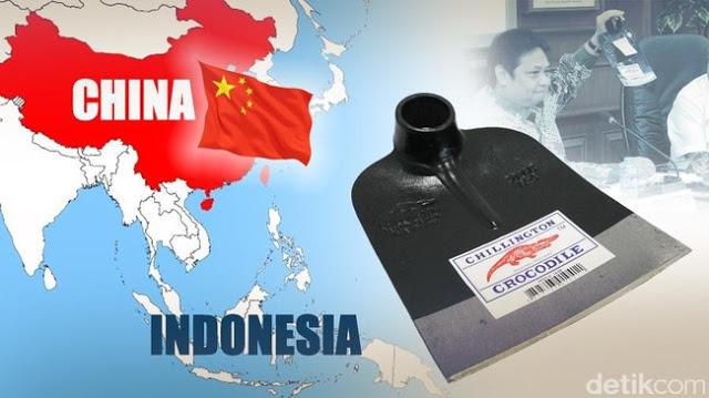 Pantas Jokowi Malu, RI Kebanjiran Pacul Impor 268 Ton