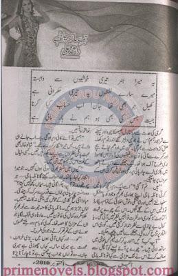 Tere sath chalna hai novel by Rashida Ali