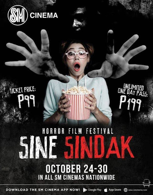 SM Cinema's 1st Sine-Sindak Film Festival Provides Big-Screen Horrors at an Affordable Price this Halloween