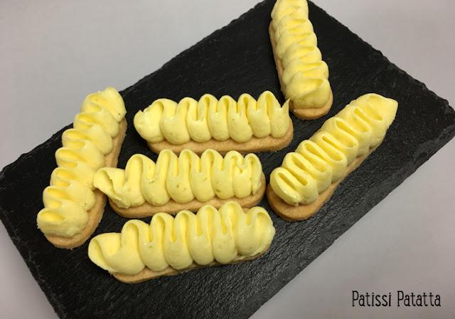 recette de fingers au citron, bouchées au citron, shortbread, crème au citron vert, petits fours au citron, fingers au citron vert, patissi-patatta
