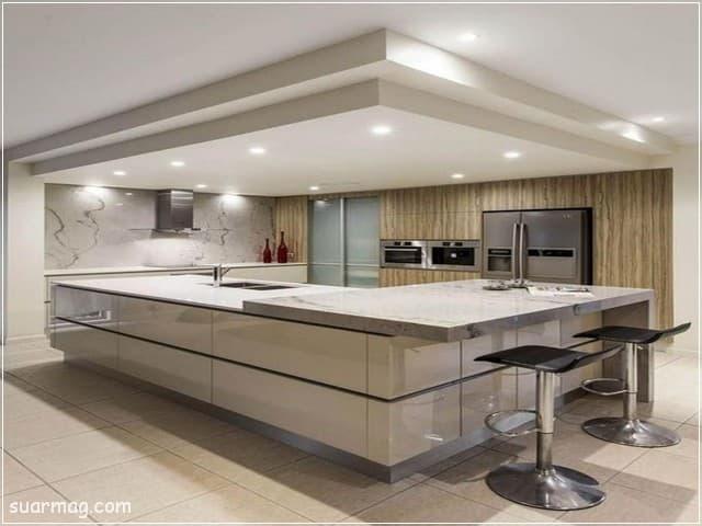 جبس بورد مطابخ 3   Kitchen Gypsum Designs 3