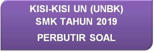 Kisi-Kisi Un (Unbk) Bahasa Inggris Smk Tahun 2019 Perbutir Soal
