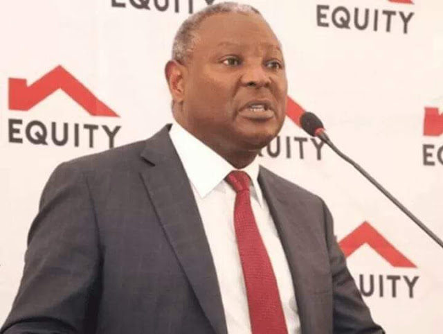 Equity Bank Group CEO, Dr James Mwangi