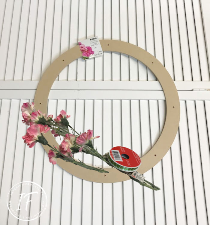 Handmade Summer Door Wreath