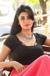 Telugu Actress Harini Stills at Dhyavudaa Movie Teaser Launch  0358.JPG