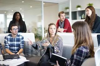 a digital content marekting company headquarter