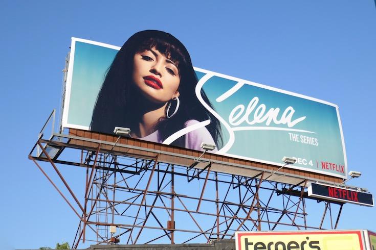 Selena series premiere billboard