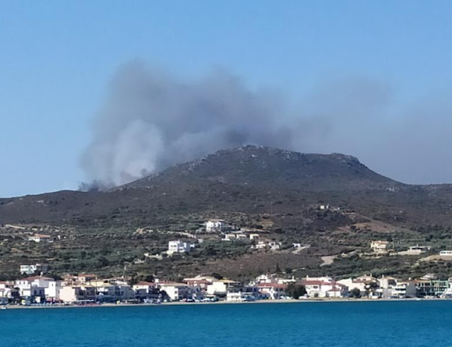 Μεγάλη πυρκαγιά στην Ελαφόνησο