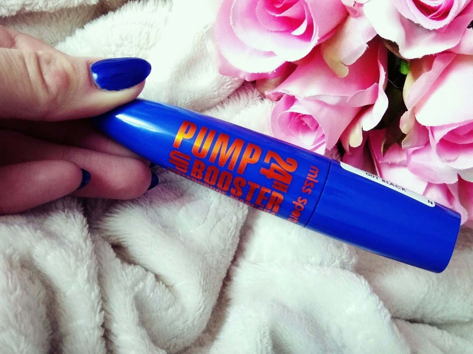 Maskara wodoodporny tusz do rzęs Miss Sporty Pump up booster